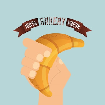 Illustration de boulangerie