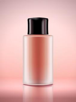Illustration de bouteille cosmétique