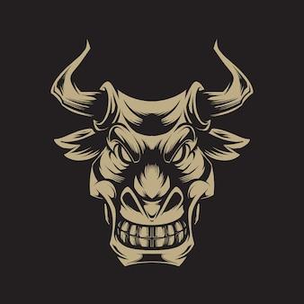Illustration de bull hread