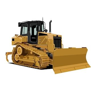 Illustration de bulldozer