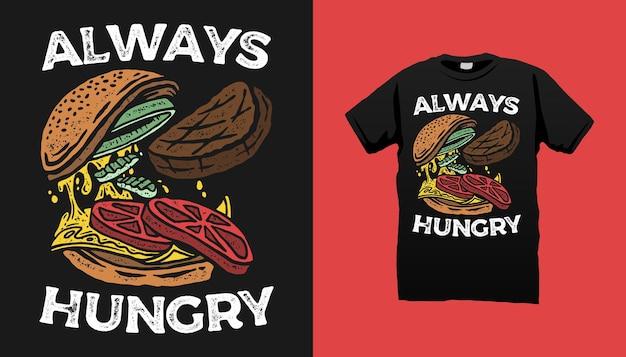 Illustration de burger