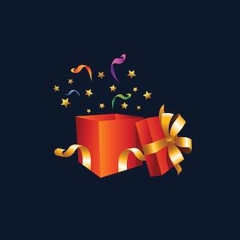 Illustration de cadeau
