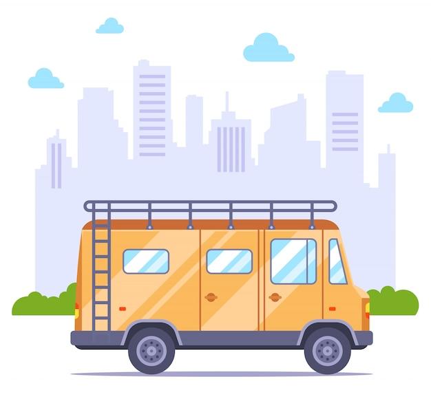 Illustration d'un camping-car