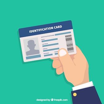 Illustration de la carte d'identité