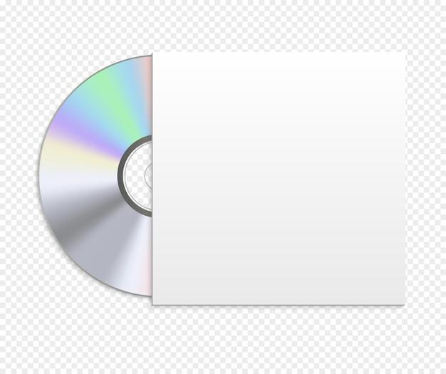 Illustration de cas de maquette de disque