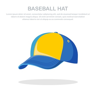 Illustration de casquette de baseball