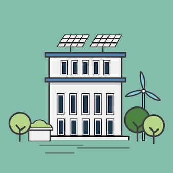 Illustration d'une centrale électrique