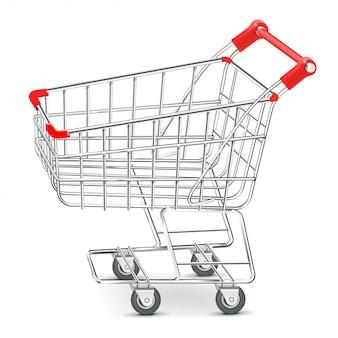 Illustration de chariot de supermarché