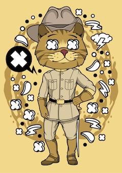 Illustration de chat