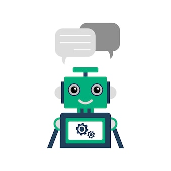 Illustration de chatbot