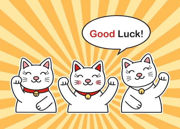 Illustration de chats mignons