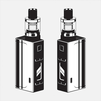 Illustration de cigare électrique vape