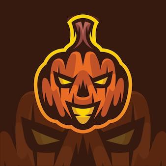 Illustration de citrouille d'halloween