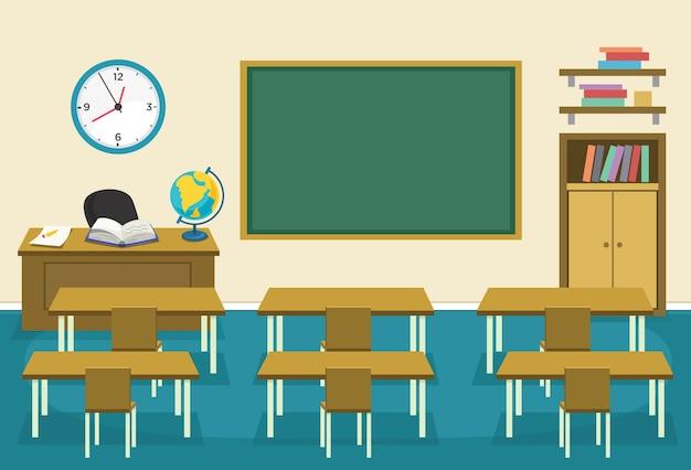 Illustration de la classe des enfants