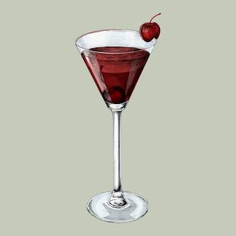 Illustration d'un cocktail