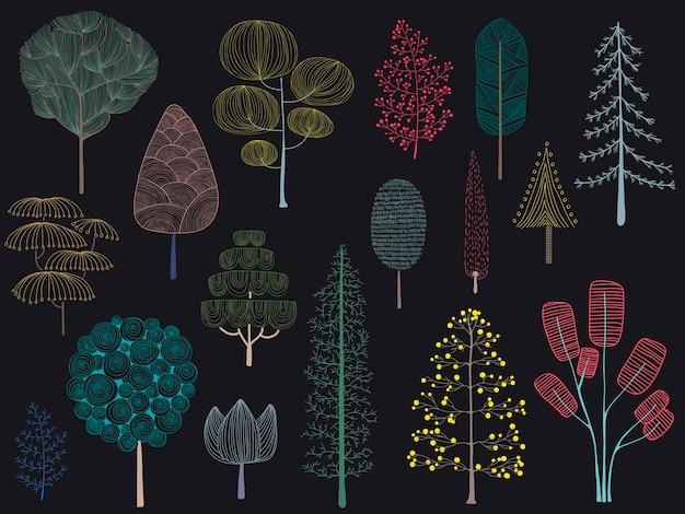 Illustration de la collection de pins