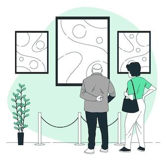 Illustration de concept art abstrait