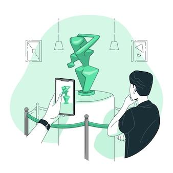 Illustration de concept d'art