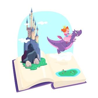 Illustration de concept de conte de fées