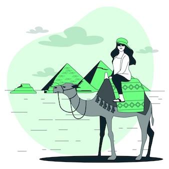 Illustration de concept el cairo