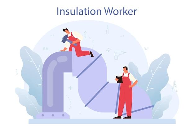 Illustration de concept d'isolation
