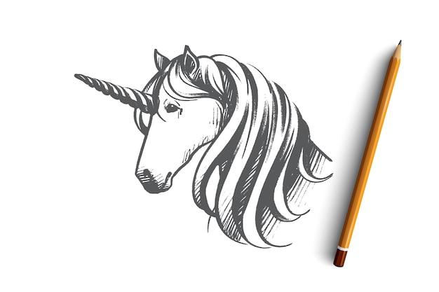 Illustration de concept de licorne