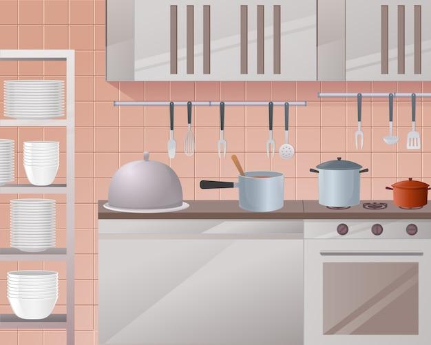 Illustration de concept de la restauration