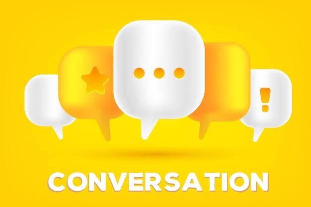 Illustration de concept de technologie de communication mobile