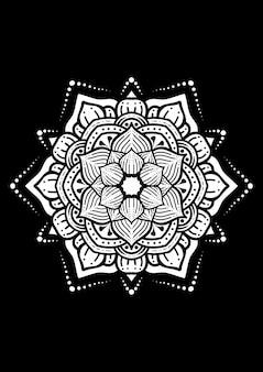 Illustration de la conception d'art mandala