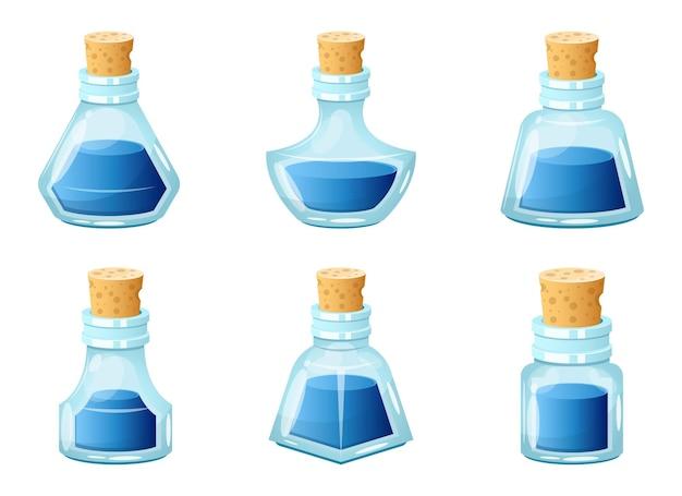 Illustration de conception de bouteille d'encre isolé sur fond blanc