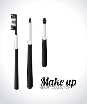 Illustration de conception de cosmétiques