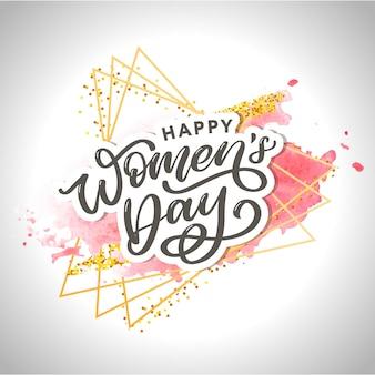 Illustration de conception de la journée des femmes