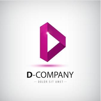 Illustration de conception de logo alphabet