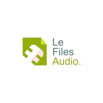 Illustration de conception de logo de podcast de finances