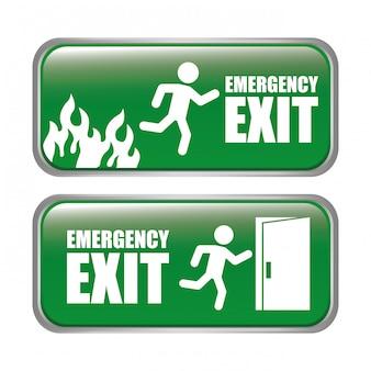 Illustration de conception d'urgence