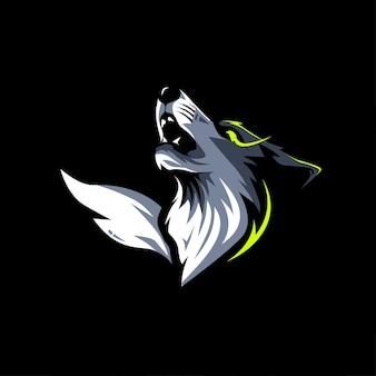 Illustration de conception de vecteur de renard