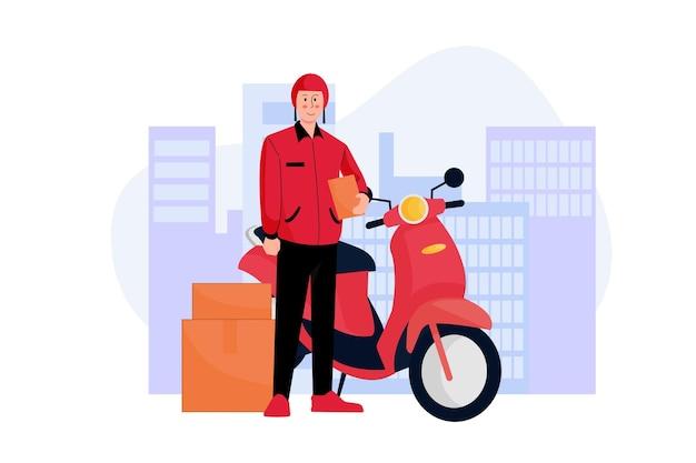 Illustration de courrier