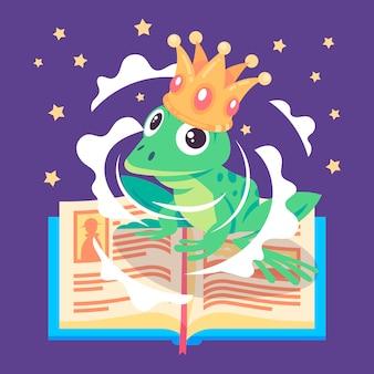 Illustration créative du concept de conte de fées