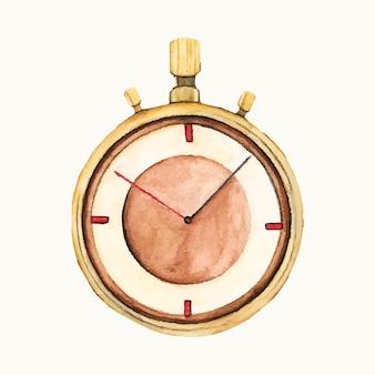 Illustration d'un chronomètre