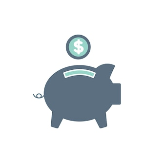Illustration de la banque piggt