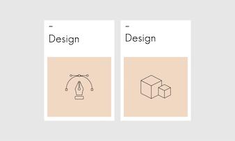 Illustration de la création graphique
