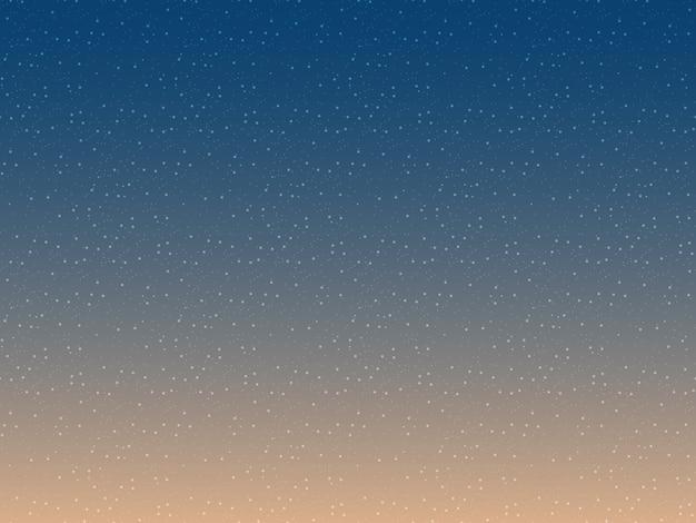 Illustration de dégradé de ciel nocturne