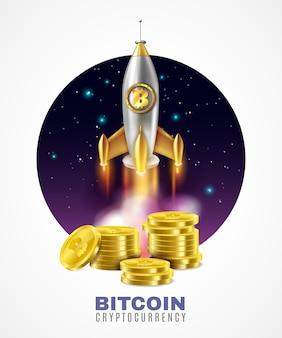 Illustration de démarrage de la crypto-monnaie