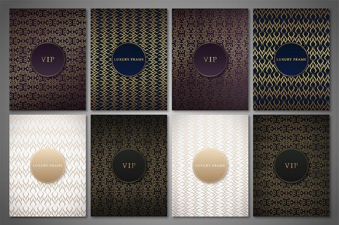Illustration de design de cercles de luxe