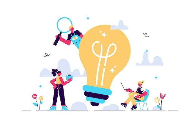 Illustration de dessin animé de l'équipe de travail travaillent ensemble