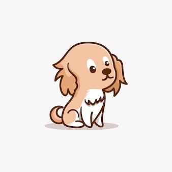 Illustration de dessin animé de personnage de chien