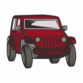 Illustration du 4x4 hors route