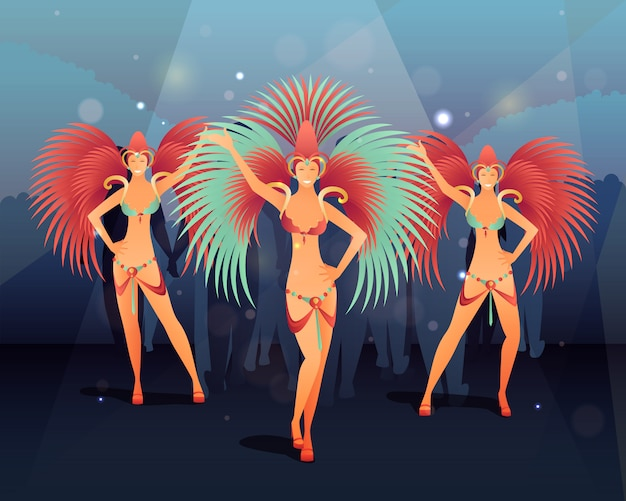 Illustration du carnaval de rio