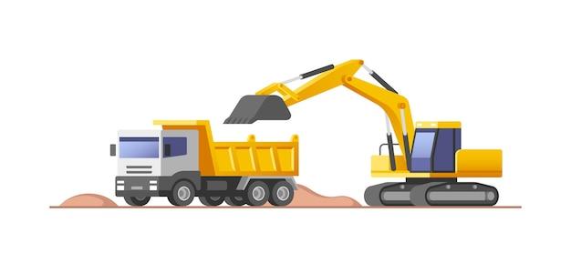 Illustration du chantier de construction
