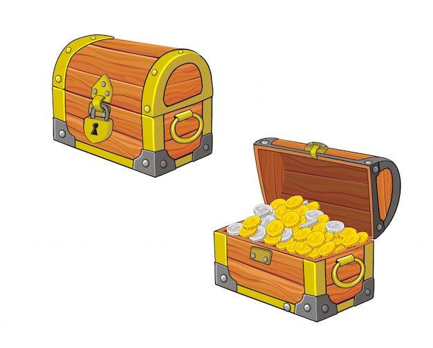 Illustration du coffre au trésor